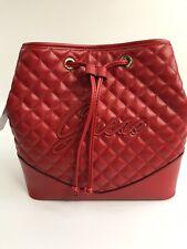 Guess Womens Crossbody Bag - Red - Annika Drawstring - RRP £89