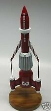 Thunderbird-3 Supermarionation Spacecraft Mahogany Wood Model Small New