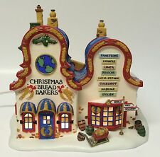 Dept. 56 Heritage Village Christmas Bread Bakers Building North Pole Series MINT