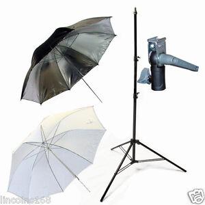 Light Stand & Flash Bracket Mount & Umbrella / Speedlite Flash Accessories Kit F