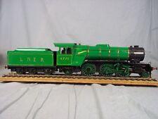 Flèche verte LNER live locomotive à vapeur Jauge 1-scratch construit