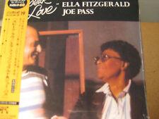 ELLA FITZGERALD JOE PASS SPEAK LOVE JAPAN REPLICA LP OBI 20 BIT K2 MASTERING CD