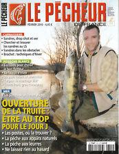 Revue  le pêcheur de France No 311 Février 2010