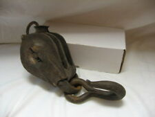 Antique Vintage Block & Hook