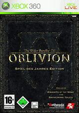 The Elder Scrolls IV: Oblivion -- juego del año Edition Xbox 360 * bueno *