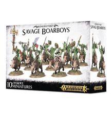 Warhammer Fantasy/Age of Sigmar Savage Orruks Boarboys NIB
