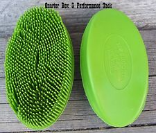 Curry - Soft Rubber Oval Face (Lime)