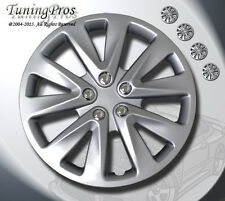 "Style 070 15 Inches T2 Style Hub Caps Hubcap Wheel Rim Skin Covers 15"" Inch 4pcs"