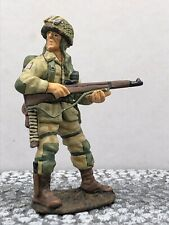 King And Country Ww2 Airborne Paratrooper American Infantry Standing Looking 106