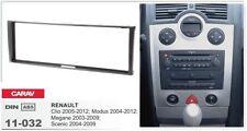 CARAV 11-032 1Din Marco Adaptador Radio para RENAULT Clio, Modus, Megan, Scenic