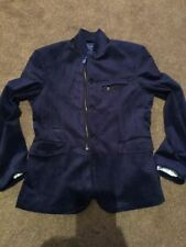 Zip Collared Cotton Blazers for Men