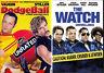 THE WATCH + DODGEBALL - UNRATED (BEN STILLER) *NEW DVD PACK*