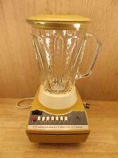 Retro Hamilton Beach Scovill Harvest Gold 14 Speed Blender – Model 653-1