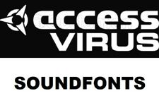 Access Virus Soundfonts logic Maschine Electro Techno dubstep trap house .sf2 FL