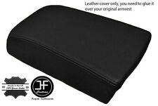 BLACK LEATHER FITS VOLVO S70 V70 850 C70  ARM REST SKIN COVER REAL LEATHER