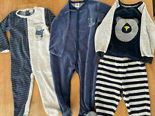 4 Pyjamas Bébé Garçon Hiver 86cm / 18 mois