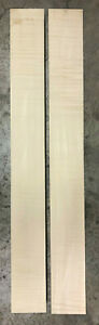 Leicht geflammter Ahorn | light flamed | Halskantel | Neck | 900 x 100 x 50 mm
