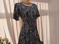 REDUCED for 7 days!!! Monsoon multi Jenna Jacquard dress sz 16 BNWT