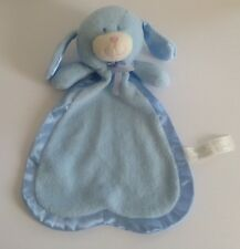 Animal Alley Baby Blue Dog Bunny Security Blanket Satin Lovey
