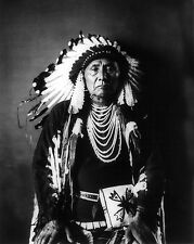 Native American Indian Chief Joseph Portrait Photo Art Print Picture
