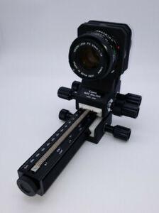 Canon FD Auto Bellows + 50mm Lens 1.8 + Fotasy FD-A711