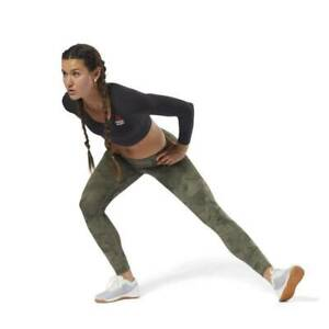 Reebok Womens Crossfit LUX Workout Tights CY5673 RRP £60.00