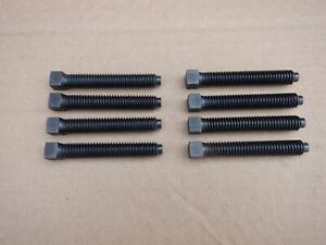 """8 - 5/16 BSW x 2"""" SQUARE HEADED MACHINE SCREWS FOR LATHE TOOL POST"""