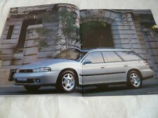 SUBARU LEGACY 250T TOURING WAGON BG9.BD9.BGC Brochure Catalog Japan freeshipping