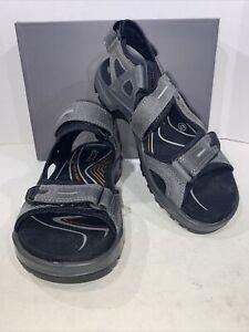 ECCO Men's Yucatan Men's Size 8-8.5 Eu 42 Marine Hiking Walking Sandals X7-766