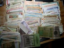 OVER 400 PIECES OF GREAT VALUE FOREIGN PAPER CURRENCY!! DEALER LOT!!!  No Dupes!