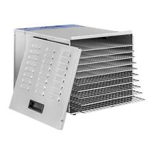 Food Dehydrator Machine Fruit Dryer Beef Perserver Vegetable Drying 10 Trays