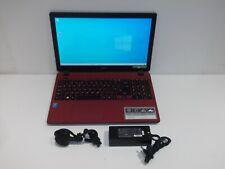 "Acer Aspire ES1-531 15.6"" - Pentium N3700 1.6 GHz 8 GB RAM 1TB HDD Win10 RED"