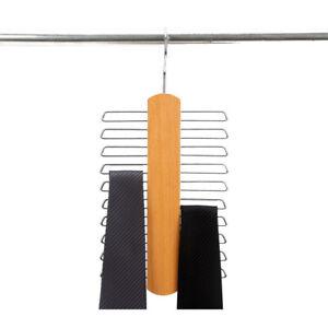 Nonslip Neck Belt Tie Velvet Hanger Shawl Scarf Closet Holder Organizer Clothes