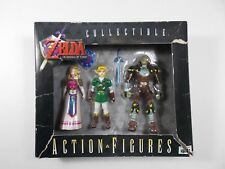 ZELDA OCARINA OF TIME ACTION FIGURE SET ZELDA GANON LINK NINTENDO N64 1998