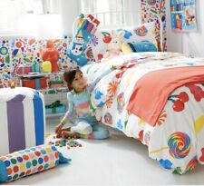 Dylans Candy Organic Cotton Land Of Nod Candy Print Twin Sheet Set