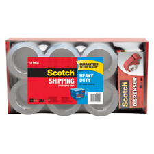 Scotch Heavy Duty Shipping Packing Tape With Dispenser 1 78 X 546 Yd Pack