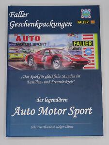 Faller AMS Geschenkpackungen des legendären Auto Motor Sport 364 Seiten Buch NEU