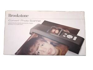 Brookstone iConvert Photo Scanner. New in the box.