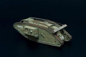 Brengun BRS144056 1/144 Resin Kit Mark IV Male tank WW.1
