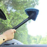 Microfiber Windshield Clean Car Auto Wiper Cleaner Glass Window Tool Brush Kit A