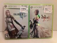 Final Fantasy Vlll *CIB* & XIII-2 *NO MANUAL*(Microsoft Xbox 360, 2012)AUTHENTIC