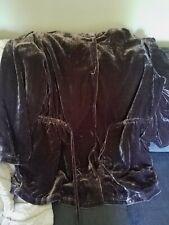 NWT - J. Jill Espresso Velveteen Feel Hooded Adirondak Jacket - 3X