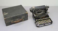 ANTIQUE CORONA TYPEWRITER FOLDING MODEL 3 CASE 1910'S PORTABLE W/ CASE WRITING