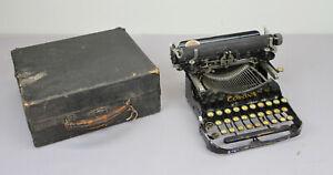 ANTIQUE CORONA TYPEWRITER FOLDING MODEL 3 CASE 1910'S PORTABLE W/ CASE WRITING