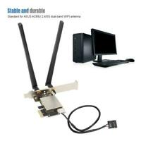WIFI Card Converter M.2 NGFF to PCI-E Laptop to Desktop for Intel AX200 9260AC