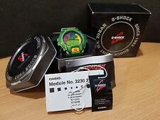 Vintage G-Shock DW-6900 Metallic Green Rasta Reggae Hip-hop Bob Marley Limited