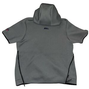 Nike Seattle Seahawks Sideline Repel Short Sleeve Pullover Hoodie XL AR6105-021