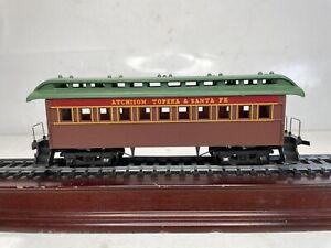 Vintage Tyco Mantua Ho Scale Model Trains AT&SF Passenger Coach Car