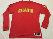 M99 New ADIDAS Atlanta Hawks On Court Long Sleeve Shooting Shirt MEN'S 2XL +2