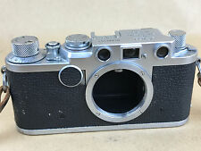 Leica IIF 1954 RD Red Dial 35mm Film Rangefinder Camera Body # 680791